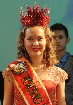 GRAND-PRIX YOUNG MISS WORLD Марченко Анна